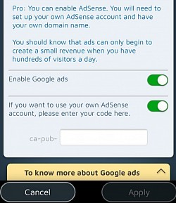 If the traffic is suffucient, you can monetize your site with Google Adsense